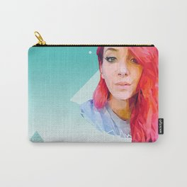 Low Poly Jenna Marbles Carry-All Pouch