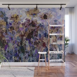 The Visionary Poetry Abstract I Wall Mural