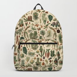 Vintage Pinecones Designs Collection Backpack
