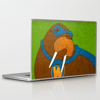 walrus Laptop & iPad Skins featuring Walrus by subpatch