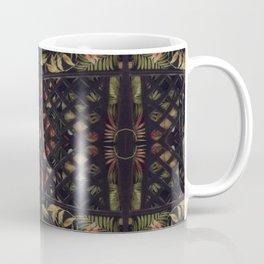 Tropical Latticework Pattern Coffee Mug