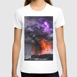 Kilauea Volcano at Kalapana 7 T-shirt