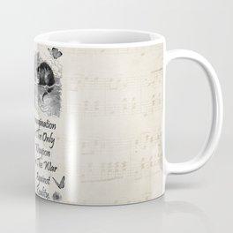 Alice In Wonderland Quote - Imagination Coffee Mug