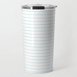 Notepaper Travel Mug