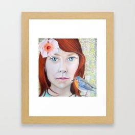 CHRYSANTA Framed Art Print