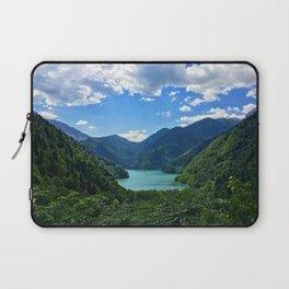 Mountain lake Ritsa. Abkhazia. Laptop Sleeve