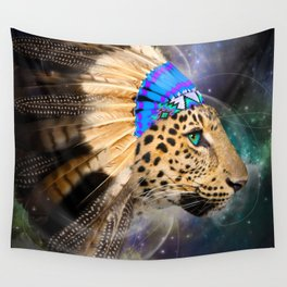 Fight For What You Love (Chief of Dreams: Leopard) Tribe Series Wall Tapestry