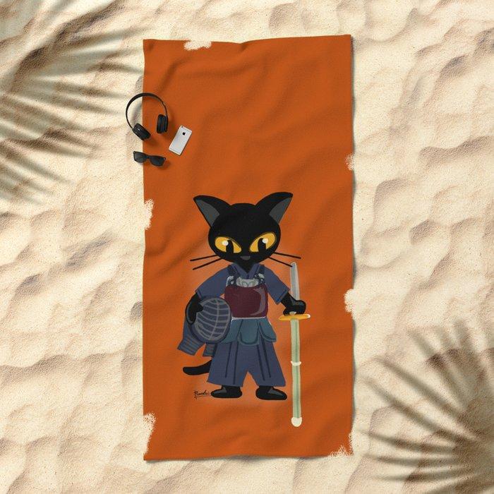 Kendo Beach Towel