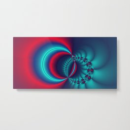 time for fractals -6- Metal Print