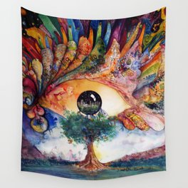 Truth of Consequences Wall Tapestry