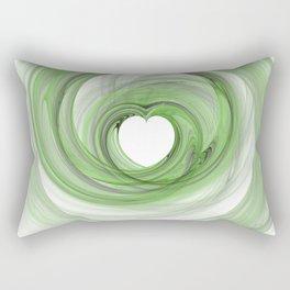 Valentine's Fractal V - Light Rectangular Pillow