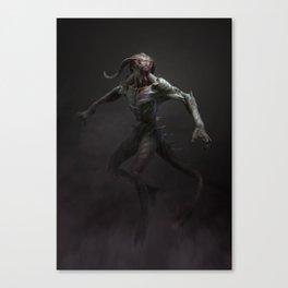 Swamp Demon Canvas Print
