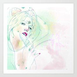 001 bulba Art Print