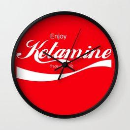 Enjoy Ketamine Wall Clock