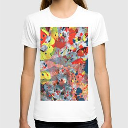 abstract painting art T-shirt
