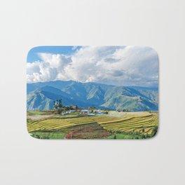 Farm in Bhutan eastern mountains Bath Mat