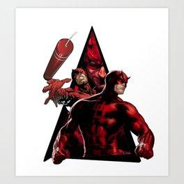 Daredevill Art Print