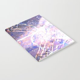 Abstract Ripple Reflection Notebook