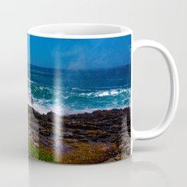 Mist Out Of Rocks Coffee Mug