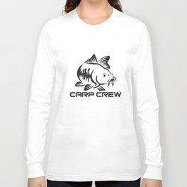 Carp Crew Hunter Pike Fishing Angler Fishing Rod Spinning Fish T-Shirts Long Sleeve T-shirt