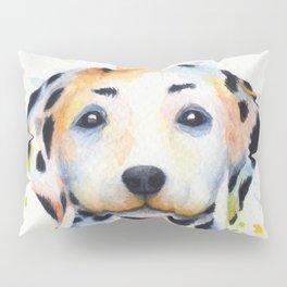 Colorful Dalmatians Pillow Sham