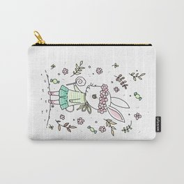 Summer Bunny Carry-All Pouch