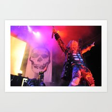 Zombie Showman Art Print