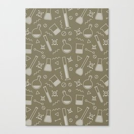 Alchemy pattern Canvas Print