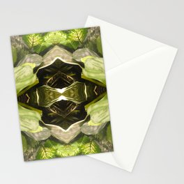 357 - Abstract Garden Design Stationery Cards