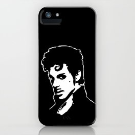 PORTRAIT OF THE MUSIC STAR iPhone Case