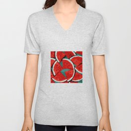 Melon, fruit Unisex V-Neck