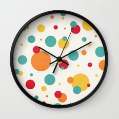I'm Just A Bit Dotty! Wall Clock