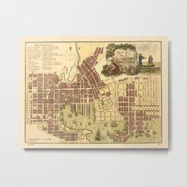 Map Of Baltimore 1805 Metal Print
