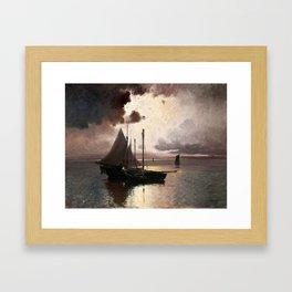 Carl Brandt Swedish, 1871-1930, After the Storm 1914 Framed Art Print