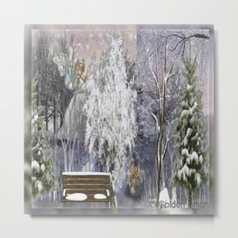 The Magic Of A Winter Day Metal Print