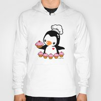 cooking Hoodies featuring Cooking Penguin by joanfriends