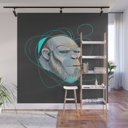 Ape Introspection Wall Mural