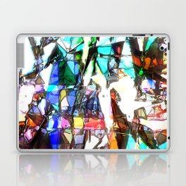 Light Streaming Through Stained Glass Laptop & iPad Skin