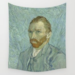 Vincent van Gogh - Self Portrait Wall Tapestry