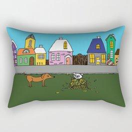 Sausage Town Rectangular Pillow