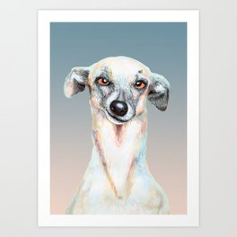 Just Dog Art Print
