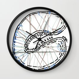 From Simplicity 2 Complexity series - Mitochondria Connections Wall Clock