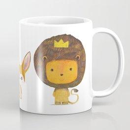 Koala, Fennec & Mr.Lion Coffee Mug