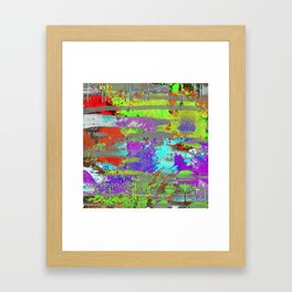 Colour Injection II Framed Art Print