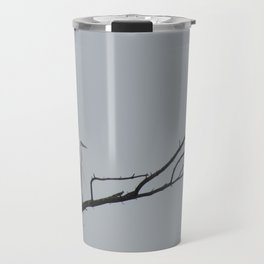 Elegant Egret Travel Mug