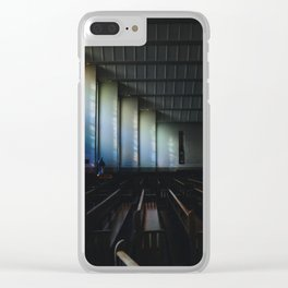 Christ the King Church Clear iPhone Case