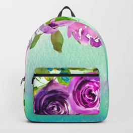 Flowers bouquet #48 Backpack