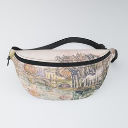 "Paul Signac ""The Pont Neuf, Paris"" Fanny Pack"