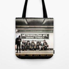 Metropolitan Ave. Tote Bag