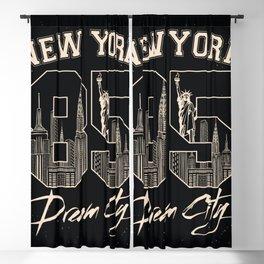 New York Urban Street Art City Blackout Curtain